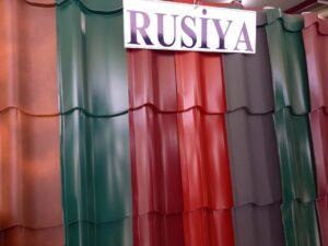 RUSİYA istehsalı dam örtüyü