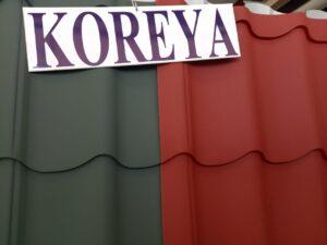 KOREYA istehsalı dam örtüyü